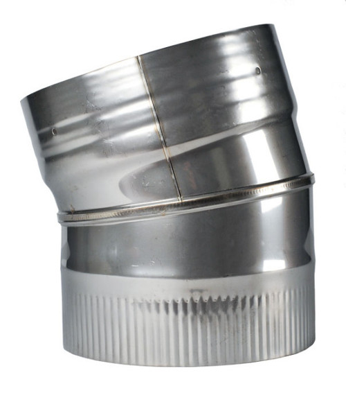 Rhino Rigid Chimney Liner 304L Stainless Elbow