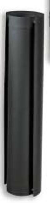 Ventis Black Single Wall Stove Pipe Heat Shield