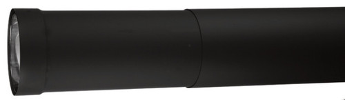 Ventis Double Wall Black Stove Pipe Telescoping Section