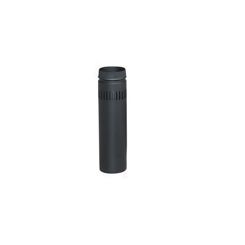 DSP Double-Wall Black Stovepipe 8""
