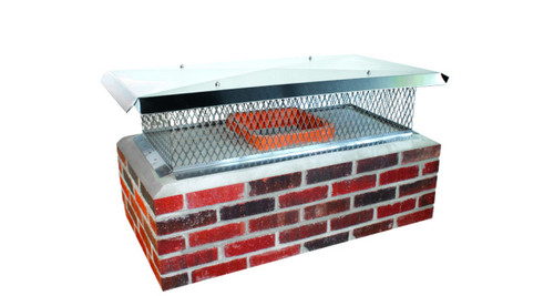Multi flue chimney cap