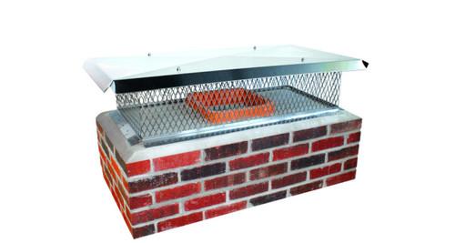 Multi flue chimney cap