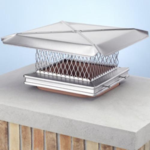 Stainless steel chimney cap