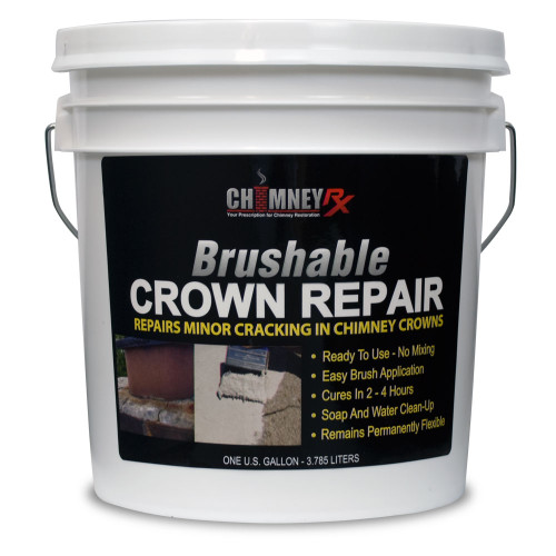 Chimney Rx Crown Brushable Crown Repair - 1 gallon
