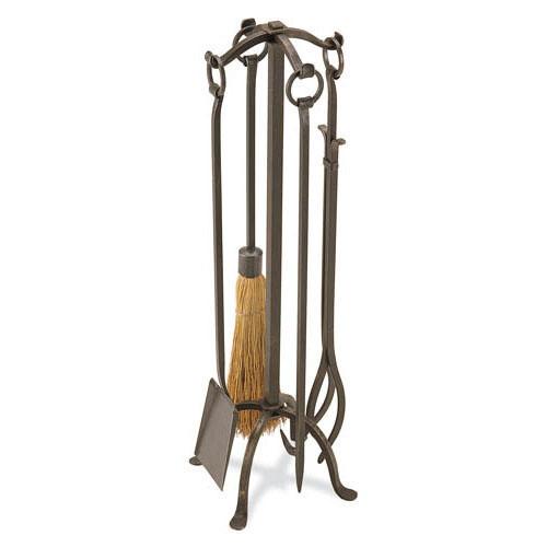 Pilgrim Craftsman Fireplace Tool Set - Vintage Iron
