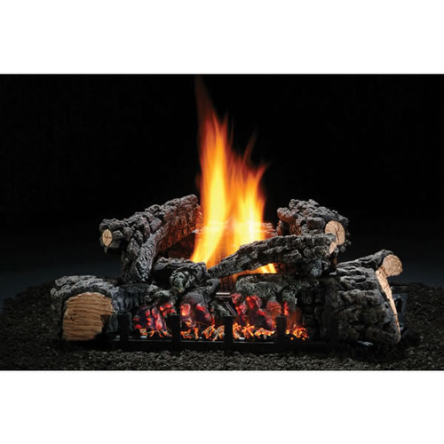 "Hargrove Highland Glow - 22"" with Variable Flame - Natural Gas"