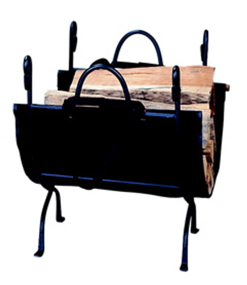 Uniflame Wrought Iron Log Holder