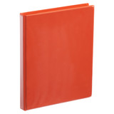 A4 Half Inch Orange 4-Ring Binder