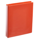 A4 1 Inch Orange 4-Ring Binder