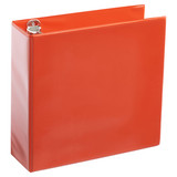 A4 3 Inch Orange 4-Ring Binder