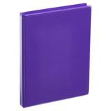 A4 Half Inch Purple 4-Ring Binder