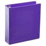 A4 2 Inch Purple 4-Ring Binder