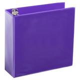 A4 3 Inch Purple 4-Ring Binder
