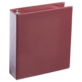 A4 2 Inch Burgundy 4-Ring Binder