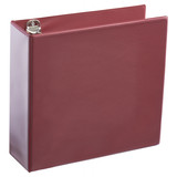 A4 3 Inch Burgundy 4-Ring Binder