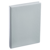 A4 Half Inch Gray 4-Ring Binder