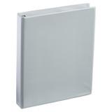 A4 1 Inch Gray 4-Ring Binder