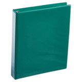 A4 1 Inch Forest Green 4-Ring Binder