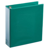 A4 2 Inch Forest Green 4-Ring Binder