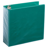 A4 3 Inch Forest Green 4-Ring Binder
