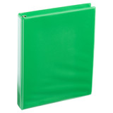 A4 1 Inch Lime Green 4-Ring Binder