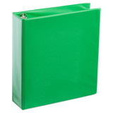 A4 2 Inch Lime Green 4-Ring Binder