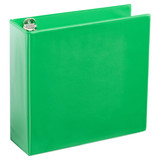A4 3 Inch Lime Green 4-Ring Binder