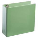 A4 3 Inch Mist Green 4-Ring Binder