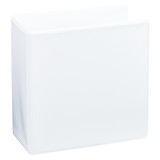 A5 4 Inch White 2 Ring Binder