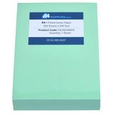 A4 20lb Pastel Green Paper