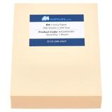 A4 20lb Ivory Paper
