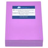 A4 24lb Planetary Purple Paper