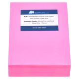 A4 24lb Pulsar Pink Paper
