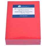 A4 24lb Re-Entry Red Paper
