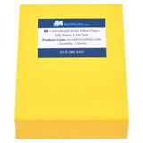 A4 24lb Solar Yellow Paper