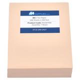 A4 20lb Tan Paper