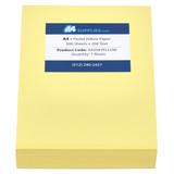 A4 20lb Pastel Yellow Paper