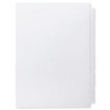A4 6-Bank Mylar Coated Tab Stock (Blank Printable Tabs, Box Of 37 Sets)