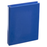 A4 1 Inch Royal Blue 4-Ring Binder