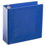 A4 3 Inch Royal Blue 4-Ring Binder
