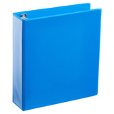 A4 2 Inch Process Blue 4-Ring Binder
