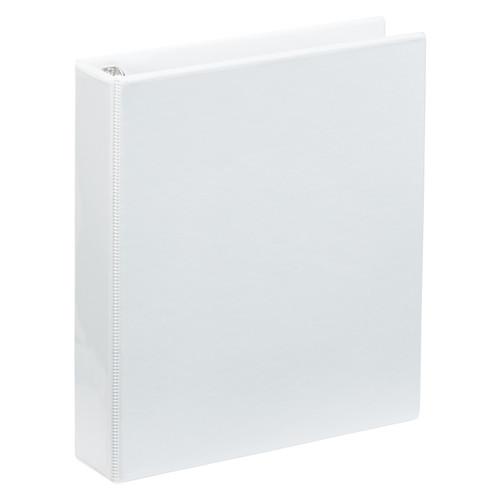 """A4 1.5"""" White 4-Ring Binder"""