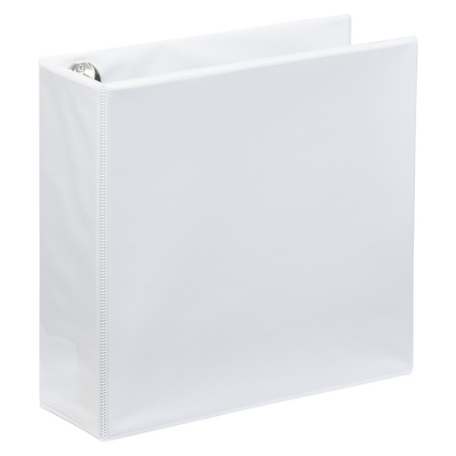 "A4 3"" White 4-Ring Binder"