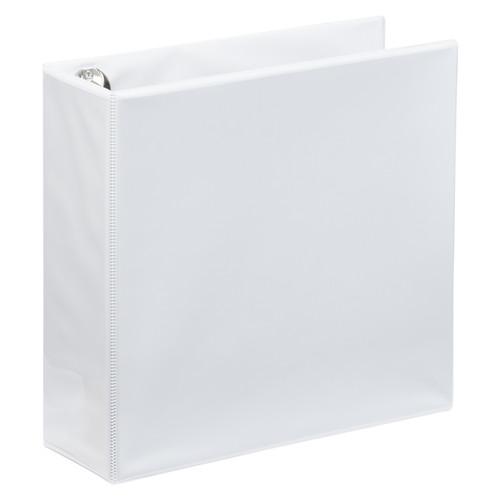 """A4 3"""" White 4-Ring Binder"""