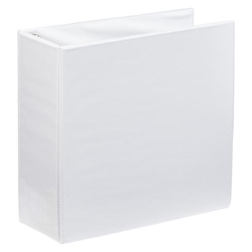 """A4 4"""" White 4-Ring Binder"""