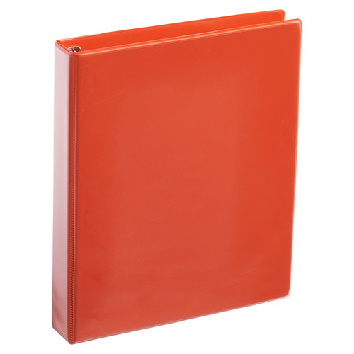 A4 1 Inch Orange 4-Ring Binder