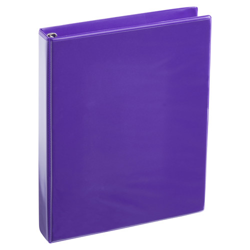 A4 1 Inch Purple 4-Ring Binder