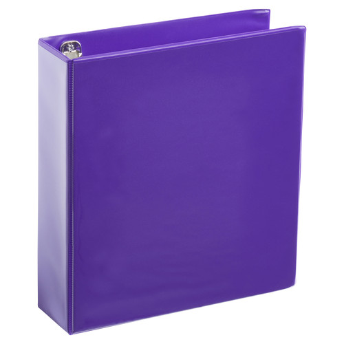 A4 2 Inch Purple 4-Ring Binder