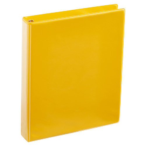 A4 1 Inch Yellow 4-Ring Binder
