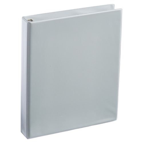A4 1 Inch Gray 4-Ring Binder